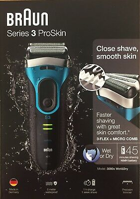 Braun 3080s Electric Shavers NEW & SEALED