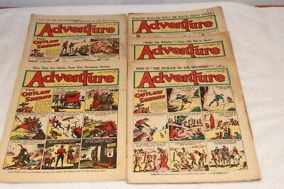 5  Adventure  Comics....1950....lots + Lots  More  Today / This  Week..lot 1