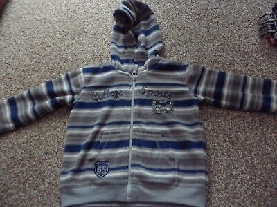 Fleece jumper / jacket age 3-4