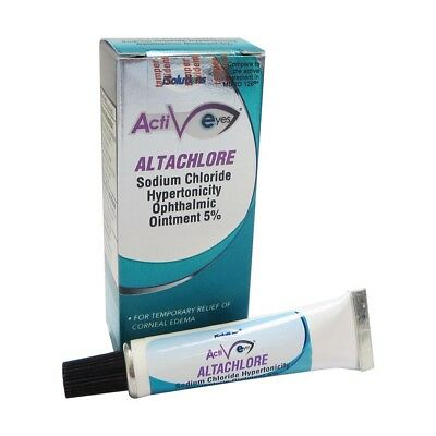 Altachlore 5% Sodium Chloride 3.5 g Ophthalmic Ointment, Compare to Muro 128