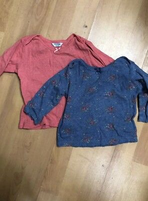 Baby Boden Thermal Tops X2 Age 6-12 Months