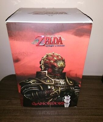 "The Legend of Zelda Twilight Princess Ganondorf 12"" Statue Dark Horse BRAND NEW"