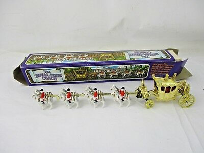 Vintage The Royal State Coach Queen's Silver Jubilee 1977 Crecent Toys