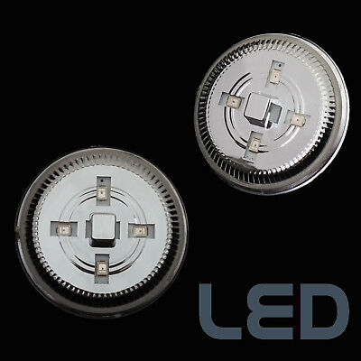 LED Clear Side Repeaters front wing Indicators for Range Rover L322 2002-12