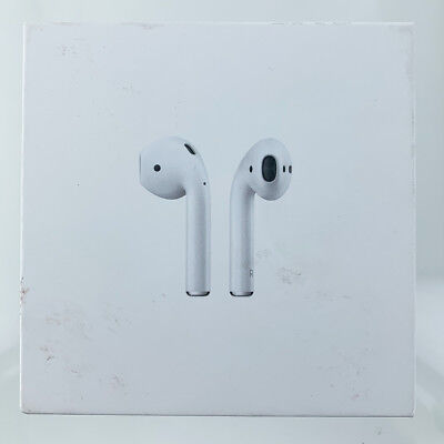Apple AirPods White Genuine In-Ear Wireless Bluetooth Headsets W/ChargeCase Used