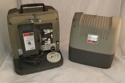 Vintage Keystone K-525~Super-8 Projector~Auto-Instant~Tested & Works
