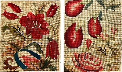 Antique Needlepoint (2 pcs)