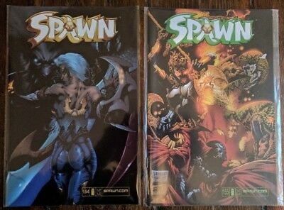 Spawn vol 1 #154 & #155 Published by IMAGE NM