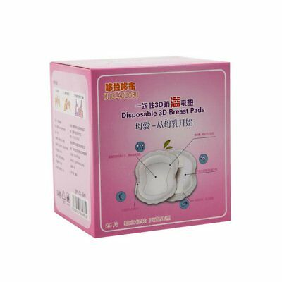 24 PCS Mother's Ultra-Thin Breathable Disposable Breast Pad MI