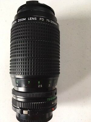 Canon Zoom Lens FD 75-200mm 1:4.5
