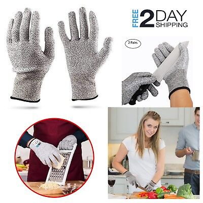 Cut Resistant Butcher Protection Gloves Anti-Cutting Safety Food Grade Kitchen
