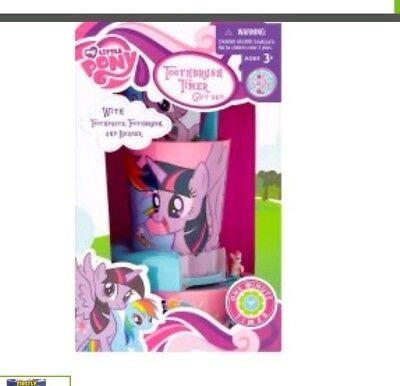 My little pony one minute Timer Toothbrush Christmas gift for girls new