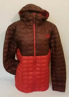 NEW THE NORTH Face Thermoball Hoodie Jacket MEN TNF Red