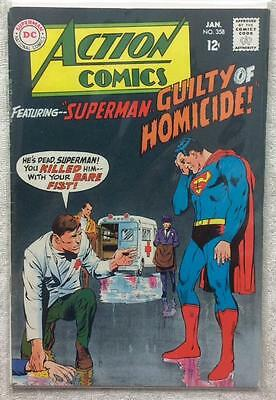 Action comics #358 (1st series 1968) FN condition. 48 year old classic.