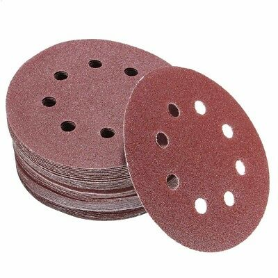 "5"" 125mm Dry Sanding Disc Pads 40-2000 Grit Hook Loop Sanderpaper Polishing Car"