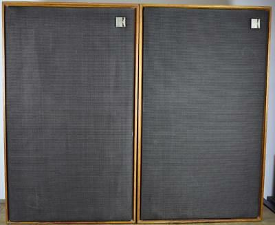 Vintage 1974 KEF Chorale SP1016 8 Ohm Monitor Audio Speakers Incl Wall Brackets
