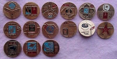 "A set of ""Soviet ice hockey world Champions and Olympic hockey"""