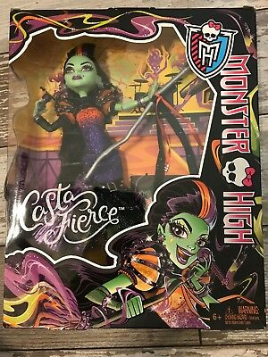 Monster High Doll Casta Fierce Rock Star Brand New In Box