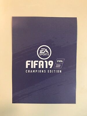 FIFA 19 Champions Edition Code For Nintendo Switch - Code only - No Game