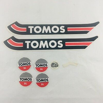 Lot of Tomos Moped Decal Set OEM