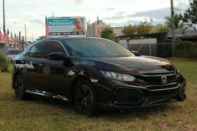 2018 Honda Civic EX 2018 EX Used Turbo Repairable, Rebuildable, Project, Fixer!   Hatchback Moonroof