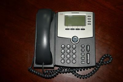 Cisco SPA504G IP Phone unlocked with stand