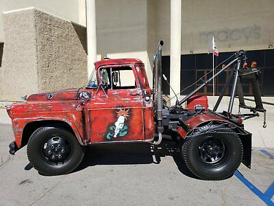 1958 Chevrolet Other Pickups viking 1958 chevy apache Viking tow truck