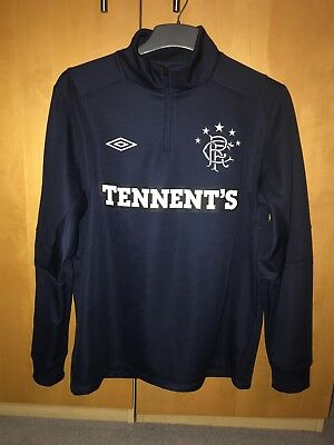 Glasgow Rangers Fleece Sweatshirt 11/12 size L
