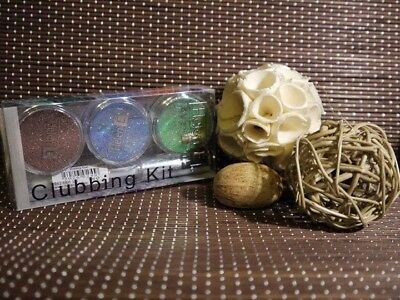 Helen E CLUBBING KIT Sparkles Glitters Makeup DIY Party Christmas Stocking Fille