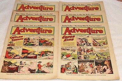 6  Adventure  Comics....1951....lots + Lots  More  Today / This  Week..lot 3