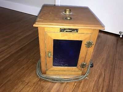 Vintage Laboratory Incubation Box