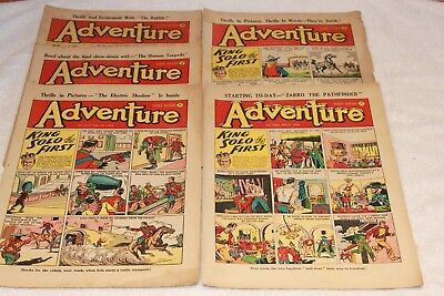 5  Adventure  Comics....1952....lots + Lots  More  Today / This  Week..lot 1