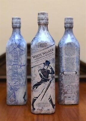 White Walker By Johnnie Walker Limited Edition Bottle.  Game Of Thrones