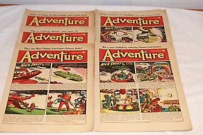 5  Adventure  Comics....1952....lots + Lots  More  Today / This  Week..lot 5