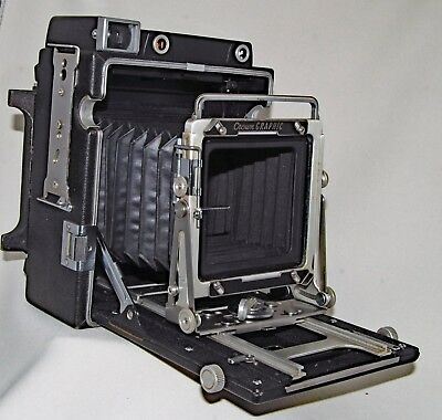 Crown Graphic 4x5 Camera by Graflex