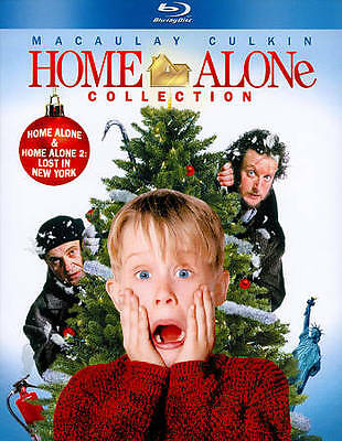 Home Alone Collection 3 Movie Blu-ray 2-Disc Box Set NEW 1 2 3 Lost in New York