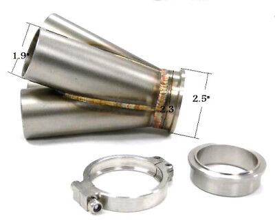 OBX 4-1 Collector Manifold with 50mm V-Band Flange for Tial GT Turbochargers