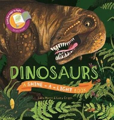 Usborne ~ Dinosaurs ~ Shine-a-Light ~ Free Shipping w/$49 Purchase!
