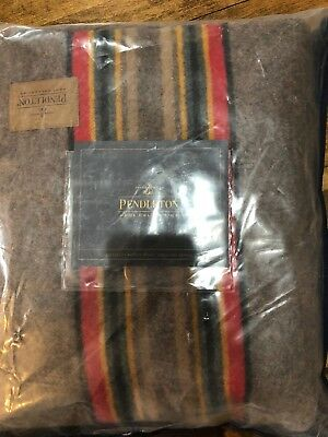 Pendleton Woolen Mills Wool Blend Yakima Camp Blanket TWIN 54x66 NWT