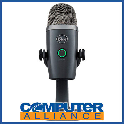 Blue Yeti Nano Premium USB Microphone Shadow Grey PN 90024675
