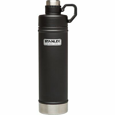 Stanley Vacuum Insulated Water Bottle (Matte Black / 36oz Size)