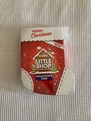 Coles Little Shop Collectors Case Christmas Edition - 1 X Case Only - Brand New