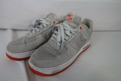 the best attitude eb5d7 ac43c Men s Nike Size 9 Nike Air Force 1 748299-001 Gray Athletic Sneakers