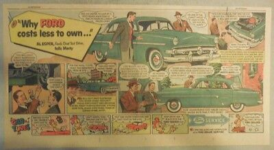 "Ford  Ad: ""Ford Costs Less To Own""  from 1950's"