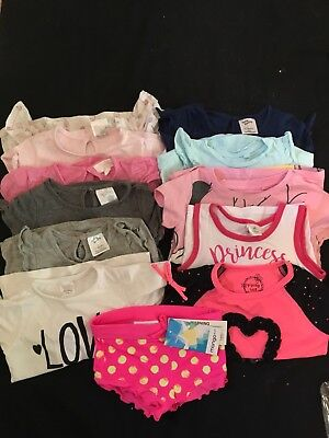 Baby Girls Bulk Lot Clothing Size 1 & 2 Including Pumpkin Patch