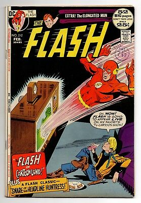 Flash Vol 1 No 212 Feb 1972 (FN+) (6.5) DC Comics, Bronze Age (1970 - 1979)