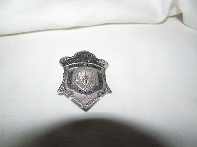 Vintage Obsolete Mass Department Of Corrections Special Police Badge Near Mint