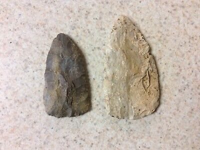 American Indian Stone Artifact Arrowhead Spear Head larg  Size Authentic Indiana