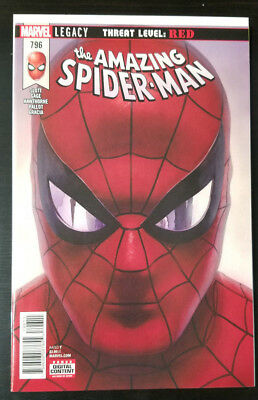 Amazing Spider-Man #796 Alex Ross 1st Print THREAT LEVEL RED RED GOBLIN???