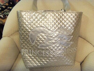 Rare Princess Cruises Vinyl Tote Bag Or Extra Large bag Shopping Travel Vacation
